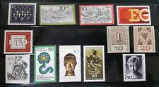 Miscellaneous Lot of 12 Mint GERMANY and BERLIN Stamps
