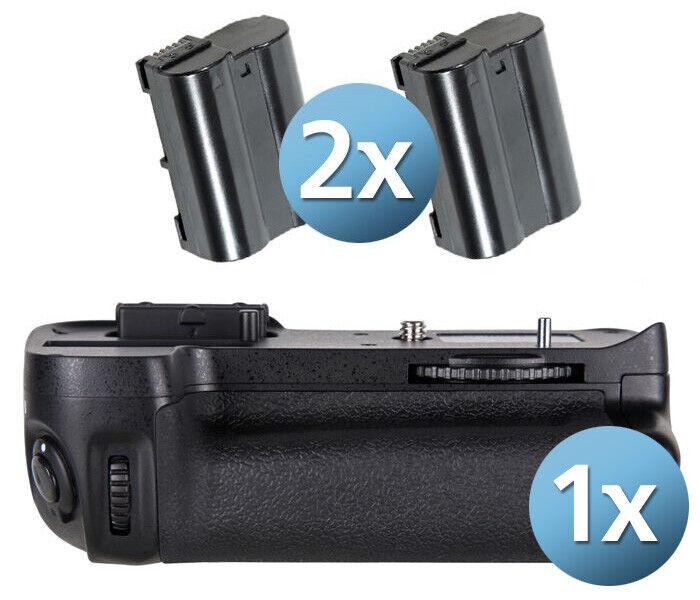 Ayex Battery Upright Format Handle For Nikon D7000 Incl. 2 EN-EL15B Batteries