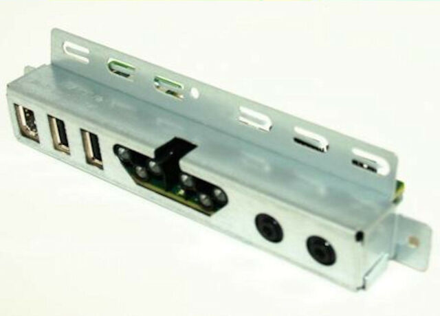 OEM Genuine Dell Precision 690 USB Audio I//O Board 0P148J FF219 W//Cable RG808