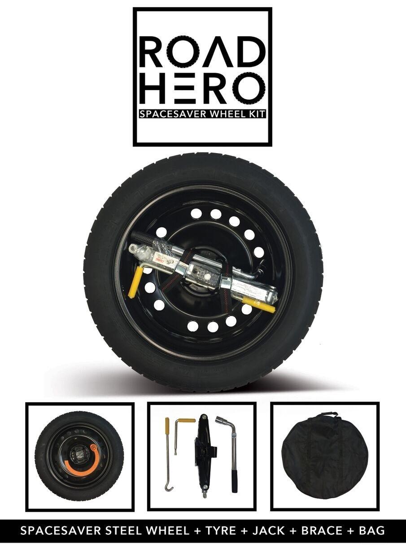 Platzsparer Rad & Reifen für Land Rover Discovery Sport + Wagenheber Stütze
