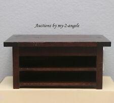 New Pottery Barn Horizontal Paper Tray Desk Desktop Organizer Magogany Vintage