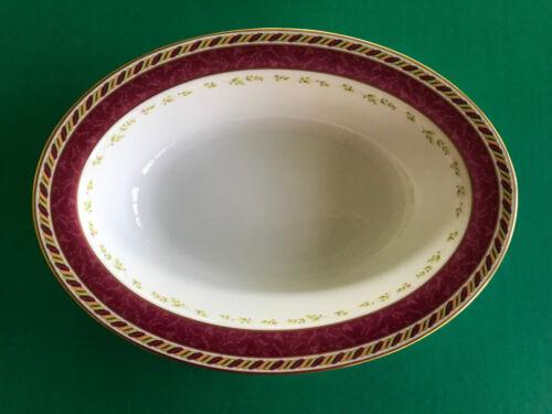 Royal Albert Seasons of Colour Oval Serving Bowl MINT