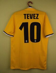 491326df2 Juventus jersey shirt  10 TEVEZ 2013 2014 Away official nike ...