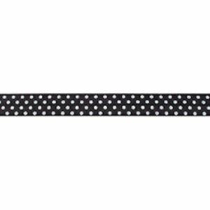 Lingerie Elastic - Polka Dot - 16mm Foldover Elastic