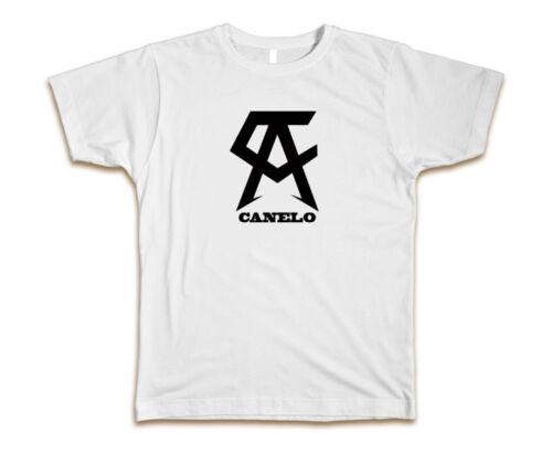 Team Canelo Alvarez Custom Mens T-Shirt Tee S-3XL New-White