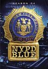 NYPD Blue The Complete Fourth Season 4 Discs (2009 Region 1 DVD New)