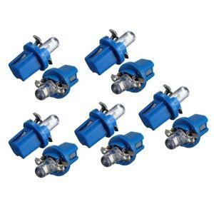 10x-AMPOULE-LED-COMPTEUR-TABLEAU-DE-BORD-B8-5D-T5-Lampe-avec-support-BLEU-TUN-T2