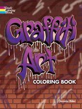 Dover Coloring Bks.: Graffiti Art Coloring Book by Jeremy Elder (2016, Paperback)