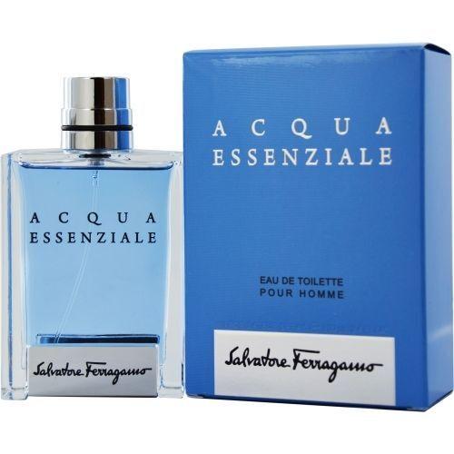 Salvatore Ferraganino Acqua Essenziale EDT For Him 100ml 3.4oz New in Sealed Box