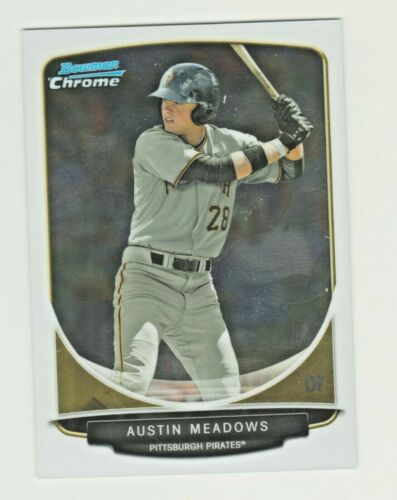 2013 Bowman Chrome Mini 40 AUSTIN MEADOWS RC Rookie Tampa Bay Rays QTY AVAILABLE