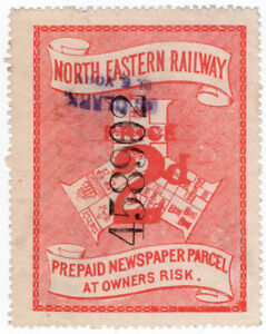 I-B-North-Eastern-Railway-Prepaid-Newspaper-Parcel-2d-York