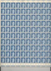 Stamp-Germany-Mi-791-Sc-516-Sheet-1941-WWII-Fascism-War-Era-Hitler-German-MNH
