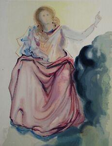 Dali-Salvador-Paradise-4-Beatrice-Wood-Engraved-Original-Divine-Comedy-1960