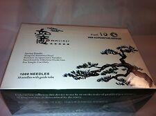 """HBW  #30x1.5""""(0.30mmx40mm) bulk acupuncture needle 1000 pcs"""