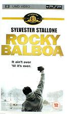 ROCKY BALBOA SYLVESTER STALLONE UMD FILM SONY psp. NUOVO