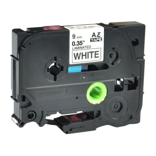 kompatibel Schriftband kassette für Brother TZ-221 TZe-221 Schwarz auf weiß 9mm