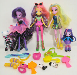My-Little-Pony-Equestria-Girls-Bundle-Lot-of-5-Doll-Toys-plus-accessories-MLP