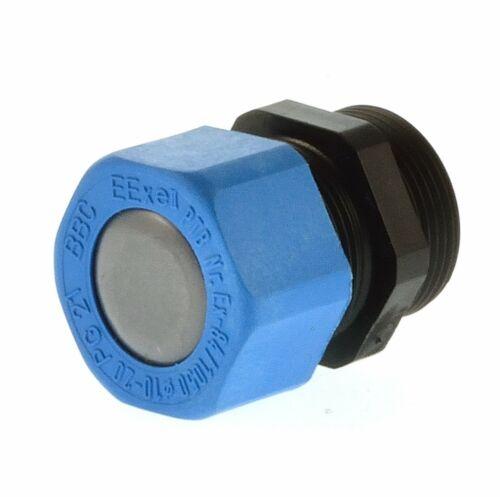 Câble raccord CEAG ex pg21 Noir-Bleu 10-20mm