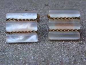Image Is Loading Vintage 1950 1960 039 S Gold Plated Lucite