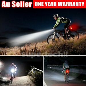 Rechargeable-LED-Bike-Bicycle-Light-USB-Waterproof-Cycle-Front-Back-Headlight