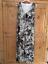 Heine-Kaleidoscope-Size-14-16-Black-White-Print-Maxi-DRESS-Summer-Holiday-70 miniatuur 6