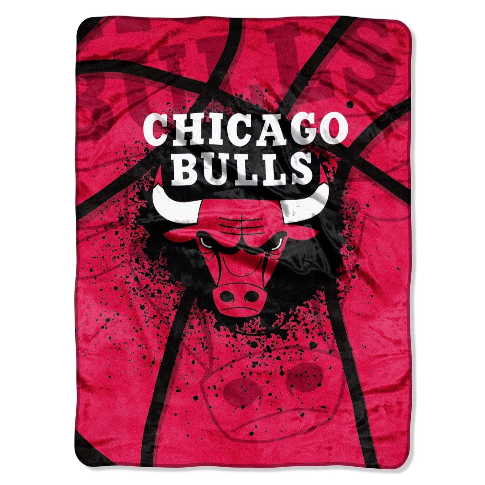Chicago Bulls  Decke Kuschel Picknickdecke Super Plush neu NBA Basketball