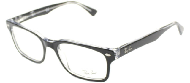 e3f045d8553e ... discount code for ray ban eyeglasses rx5286 2034 black clear plastic  frame 51mm ebef3 5516c