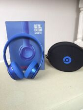 Beats Solo 2 By Dr Dre Royal Edition Sapphire Blue Over Ear Headphones