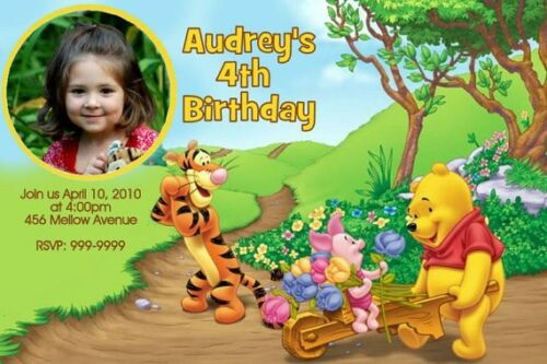Tigger Birthday Party Invitations collection on eBay – Tigger Birthday Party Invitations