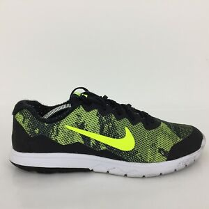Nike Air Flex Experience RN 4 Noir Textile Trainer 749174-010 Hommes UK 10 EUR 45