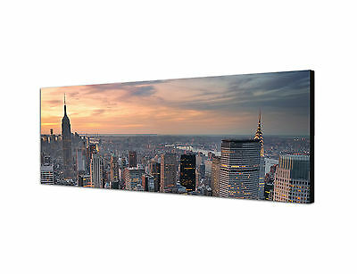 Panoramabild -150x50cm Keilrahmenbild Fotokunst Leinwand modern Bilder XXL neu