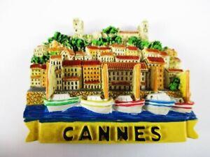 2019 DernièRe Conception Aimant Cannes Cote D'azur Moulés, Souvenir France France, Neuf. *-enir Frankreich France,neu.*fr-fr Afficher Le Titre D'origine Gagner Une Grande Admiration
