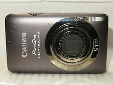 Canon PowerShot Elph 100 elph100 / ixus 115  Digital Camera  +8gb