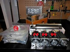 Gecko G540 Rev 8, & 4 Nema 23 600oz 1/4in-48v 12.5a Power Supply-2.2KW Spindle