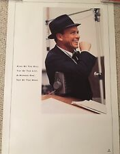 Frank Sinatra King of The Hill Rare Limited Edition Promo Poster Capital Records