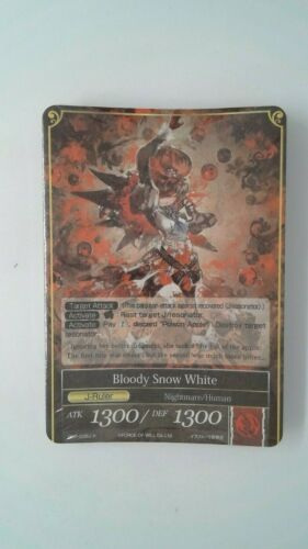 Bloody Snow White Force of Will ARG Demo Deck