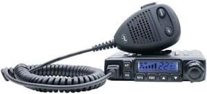 Pni Escort HP 6500 AM/FM CB Radio Station with RF Gain and Cigarette Lighter - Black