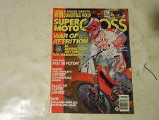 MAY 1989 SUPER MOTOCROSS MAGAZINE,ATK 406,JEFF STANTON COVER,TY DAVIS,CHARIOTS