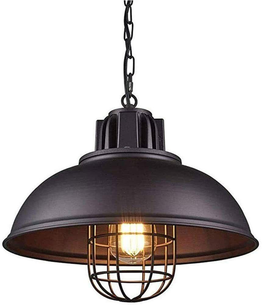 Lámpara de Techo Vintage Industrial Lámpara A++ 220V 60W LED Ajustable en...