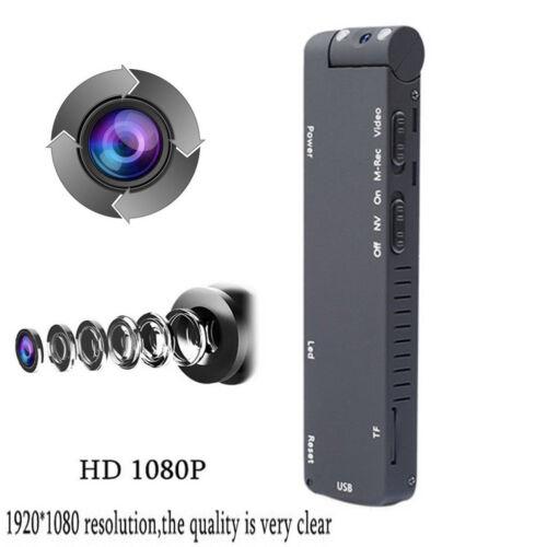 MD14 1080P HD IR Cam DV DVR Night Vision Mini Camera Record Hidden Camcorder