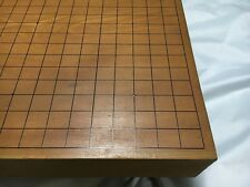 VINTAGE JAPANESE THICK KAYA WOOD GO GAME BOARD GOBAN CARVED 17.7 crafstman