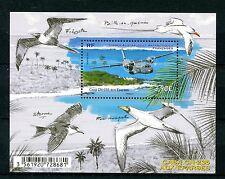 FSAT TAAF 2017 MNH Aircraft Casa CN-235 on Îles Éparses 1v M/S Birds Stamps