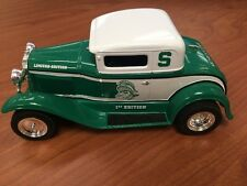 MICHIGAN STATE SPARTANS Collectible Die cast  Model A Coupe Car Bank TCB 1st Ed
