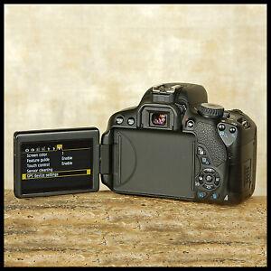 SUPER-CLEAN-Canon-EOS-650D-Digital-SLR-Camera-video-Extras