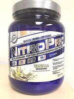Hi-tech Nitro Pro Hydrolyzed Whey Protein Powder Vanilla 1 Lb Nitropro