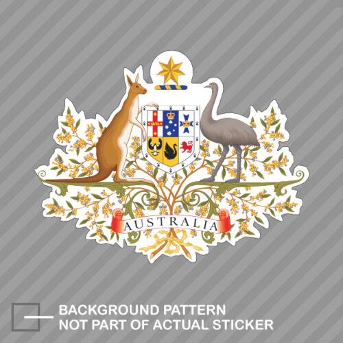 Australian Coat of Arms Sticker Decal Vinyl Australia flag AUS AU