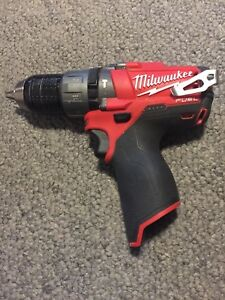 Milwaukee-034-Fuel-034-2404-20-12V-1-2-034-Cordless-Hammer-Drill-Driver-Free-Shipping
