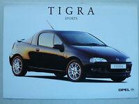 Prospekt Opel Tigra Sports, 2.1998, 2 Seiten