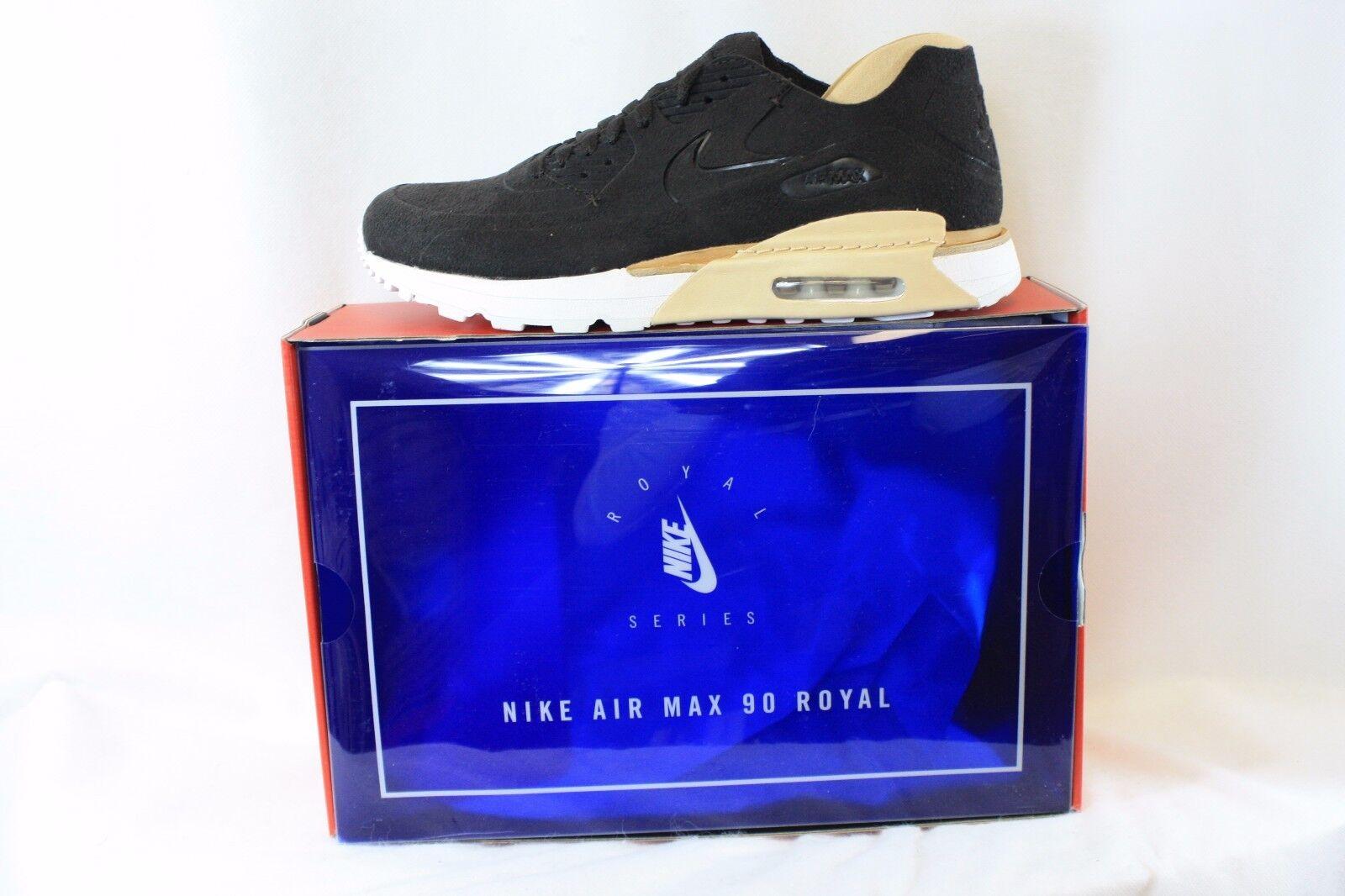 neue männer samt nike air max 90 royal 885891 200 samt männer braune sneakers, schuhe a18bd3