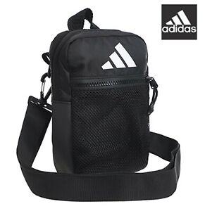 aca352a91 Image is loading Adidas-Park-hood-Organizer-Black-Bags-Messenger-Sports-